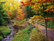 Munising Falls Trail, Alger County, Michigan