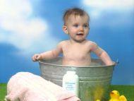 Nice Baby Bathing