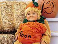 Nice Boy in Halloween Costume