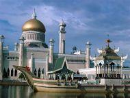 Omar Ali Saifuddin Mosque, Bandar Seri Begawan, Brunei