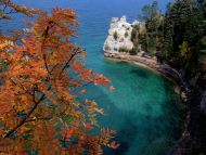 Pictured Rocks National Lakeshore, Lake Superior, Michigan