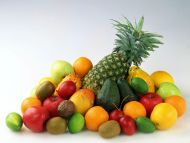 Pineapple with Fruits