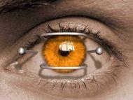Pins in Eye