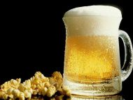 Popcorn with Beer