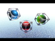 R G B Cubes