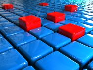 desktop wallpapers 3d backgrounds red and blue cubes www