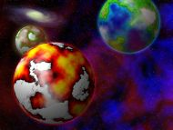 3d wallpaper colorful planets - photo #38