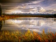 Reflections, Mount Mckinley, Denali National Park, Alaska