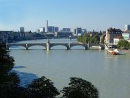 Rhine, Basel, Switzerland