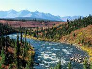 Scenic Yukon Territory