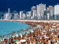 Desktop wallpapers other backgrounds sea of humanity rio de sea of humanity rio de janeiro brazil voltagebd Choice Image