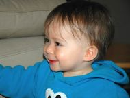 Smiling Cute Baby