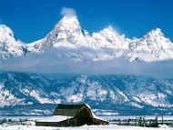 Snow Capped, Grand Tetons, Wyoming