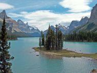 Spirit Island Maligne Lake, Jasper National Park, Alberta