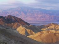 Sunrise Colors, Death Valley, California
