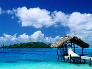 Thatched Hut, Bora Bora, French Polynesia