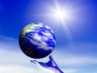 Desktop Wallpapers » 3D Backgrounds » The Universe On The