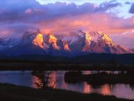 Torres Del Paine, Serrano River, Chile