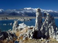 Tufa Formations, Mono Lake, California, 2