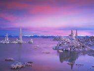 Twilight over South Tufa Grove, Mono Lake, California