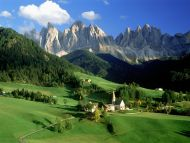 Val Di Funes, Dolomites, Italy Val Di Funes, Dolomites, Italy Background is