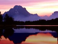 Velvet Finish, Oxbow Bend, Wyoming
