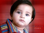 Very Innocent Baby with Cute Eyes