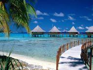 Walkway to Paradise, Tiputa, Rangiroa, French Polynesia