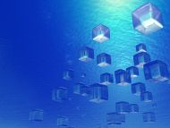 desktop wallpapers » 3d backgrounds » watery cubic stuff » www