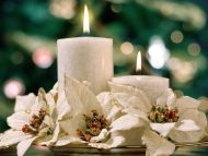 Desktop Wallpapers Other Backgrounds White Candles