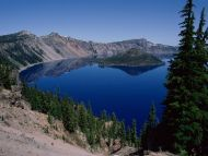 Wizard Island, Crater Lake, Oregon