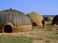 Zulu Huts, South Africa